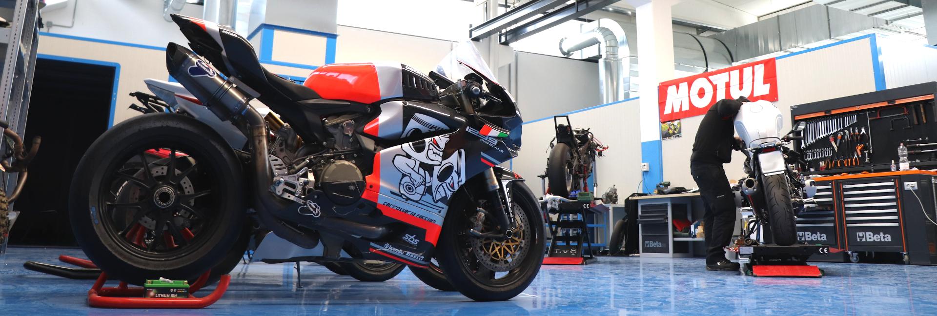 Officina Moto | Sale Prova | E-Shop | Racing